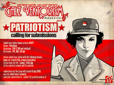 is an event for you who love galz. galz vektorism is a pdf mags. the content is a vector art