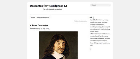 Descartes | Eka Kurniawan